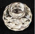"Picture of Swarowski miniature crystal candleholder 1 1/8"" tall, 1 3/8 diameter"