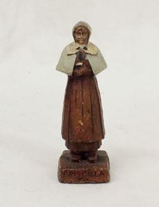 Picture of Antique Priscilla Alden Pilgrim Settler figurine